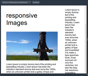 Example Site 660 width